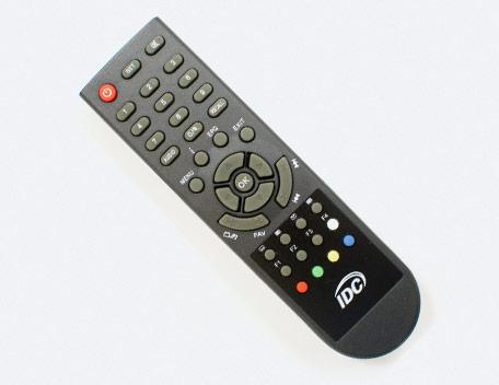 Remote control DVB-C RCU